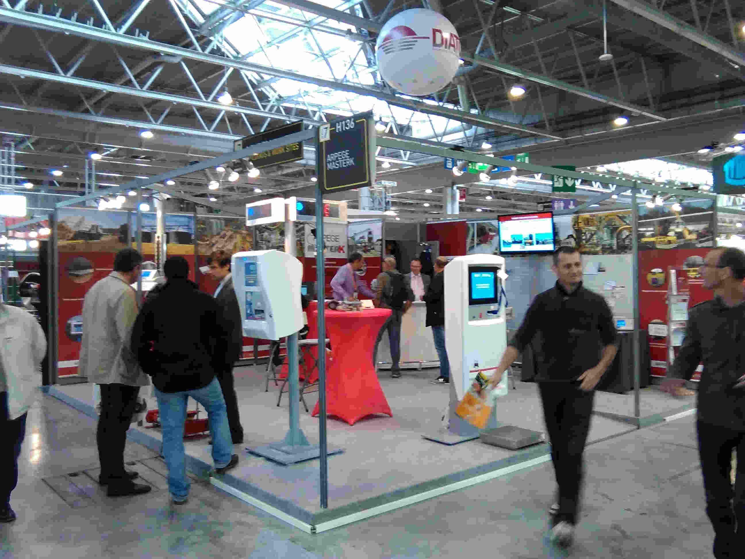 Exhibition Intermat 2015