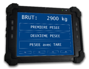 Heavy-duty tablet