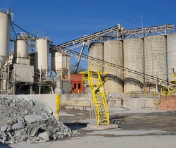 weigh in cement plant