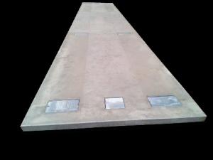 Pont bascule en béton