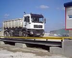 Truck weighing