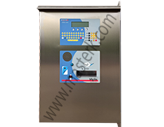 weighbridge weighing kiosk