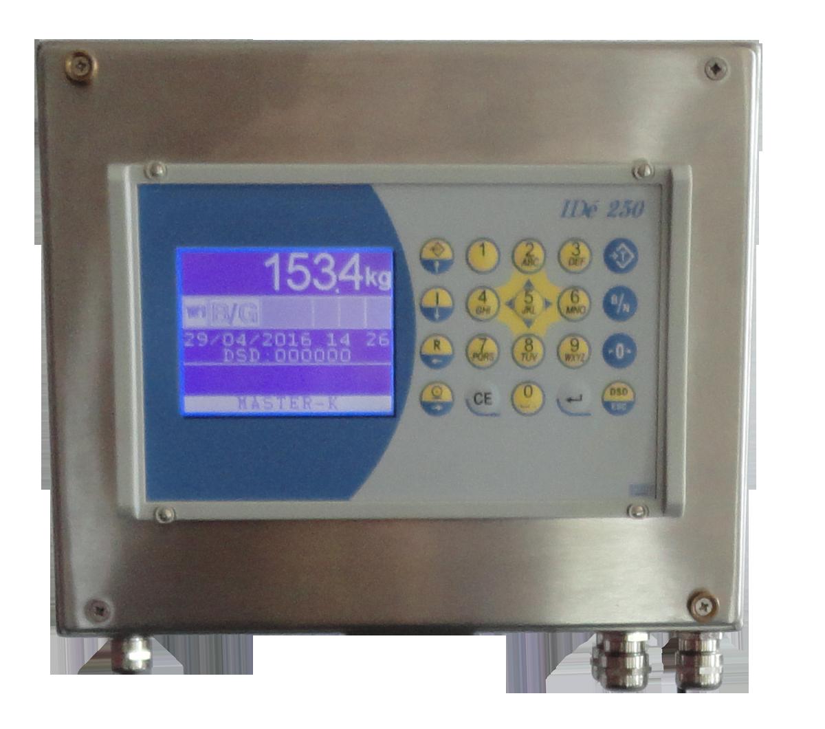 inox-weight indicator weighing