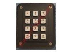 12-key numeric keypad