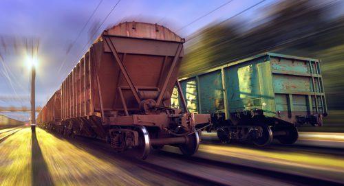 Pesage dynamique des trains wagons